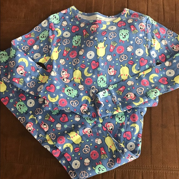 Carter's Other - New Carter's Girls Monster Pajamas Sizes 4T & 10